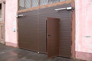 ворота на гараж купить в самаре