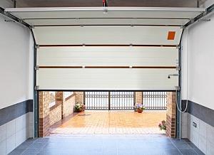 Купить откидные ворота в гараж заказать строительство гаража цена