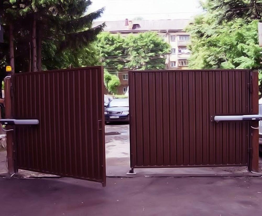 купить распашные ворота в ставрополе