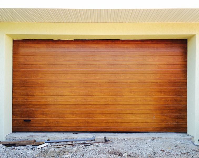 Автоматические ворота в гараж дорхан